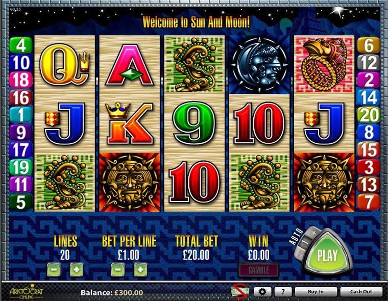 lightning gems Slot Machine